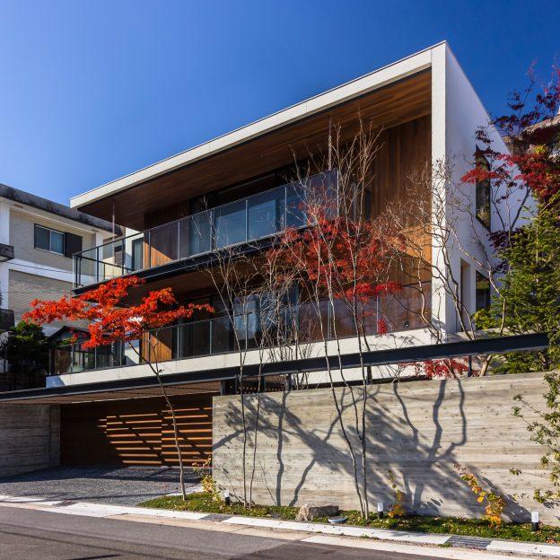 かっこいい家豪邸 高級住宅 設計事務所 和モダンスタイル