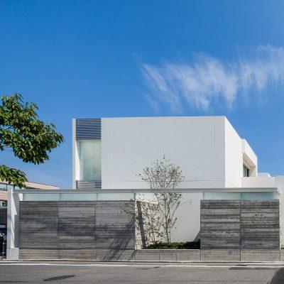 名古屋の設計事務所 高級住宅の設計 シンプルモダン