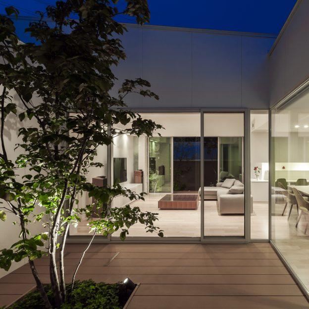 名古屋の設計事務所 住宅作品 中庭のある家